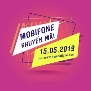 Mobifone khuyến mãi ngày 15/5/2019 tặng 20% giá trị thẻ nạp