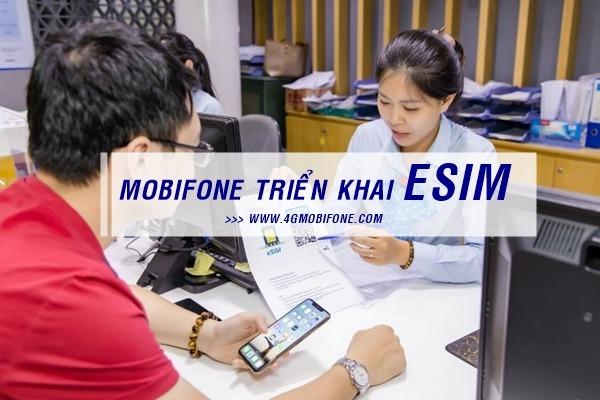 Mobifone triển khai ESIM tại Việt Nam
