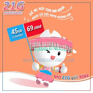 Đăng ký gói 21G Mobifone