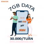 Đăng ký gói cước D30 Mobifone nhận ngay 7GB Data