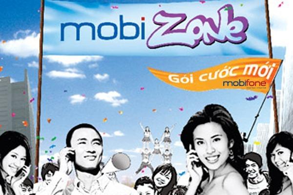 Hòa mạng gói cước MobiZone Mobifone