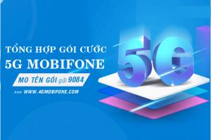 Các gói cước 5G Mobifone tốc độ cao