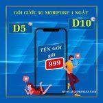 Gói cước 5G Mobifone 1 ngày