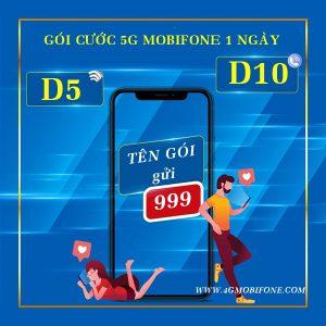 Tổng hợp các gói cước 5G Mobifone 1 ngày giá rẻ chỉ từ 1k, 3k, 5k, 7k