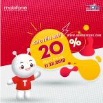 Mobifone khuyến mãi ngày 11/12/2019