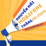 Lịch khuyến mãi Mobifone trả trước tháng 2/2020