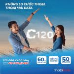 Đăng ký gói cước C120 Mobifone