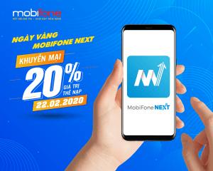 Mobifone khuyến mãi ngày 22/2/2020